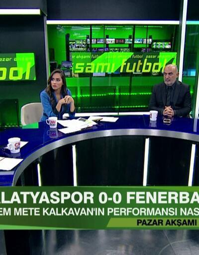 Yeni Malatyaspor 0-0 Fenerbahçe maçının analizi Pazar Akşamı Futbol'da ekrana geldi