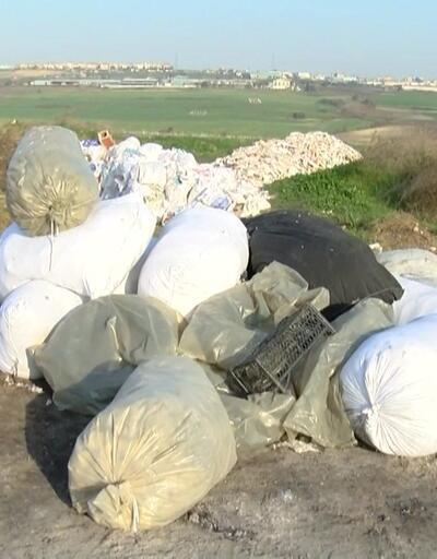 Tarım alanı moloz çöplüğüne döndü