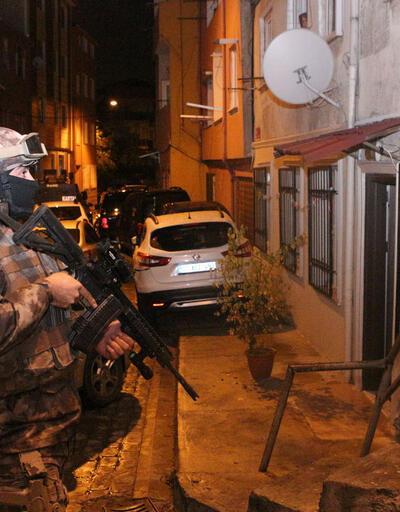 Fatih ve Beyoğlu'nda uyuşturucu operasyonu