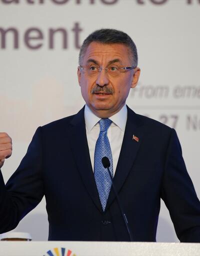 Cumhurbaşkanı Yardımcısı Oktay'dan güvenli bölge açıklaması