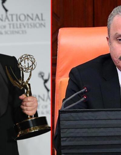 TBMM Başkanı Şentop'tan Haluk Bilginer'e kutlama