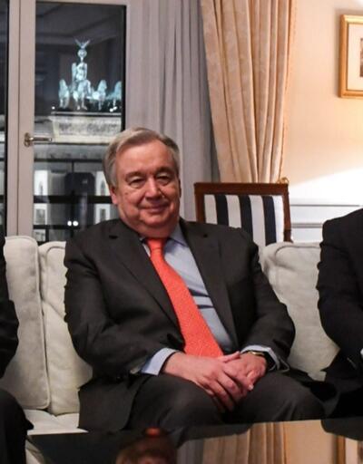 Kıbrıs sorunu Berlin'de konuşuldu