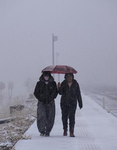 Tunceli'nin Ovacık ilçesi beyaza büründü