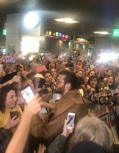 Madrid'de böyle, İstanbul'da böyle! Can Yaman Türkiye'ye döndü