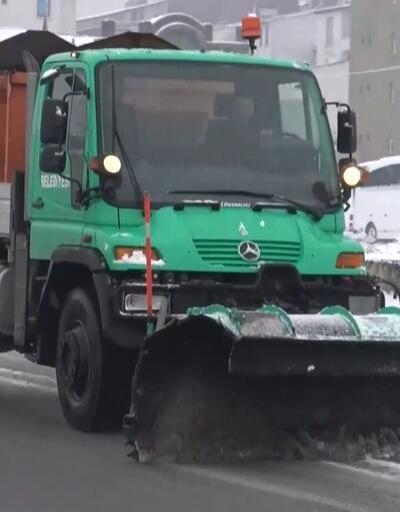 Doğu Anadolu'da karla mücadele devam diyor