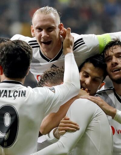 Beşiktaş Avrupa'da ilk galibiyetini aldı
