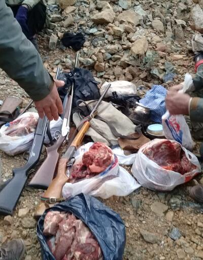 Kaçak yaban keçisi avına para cezası