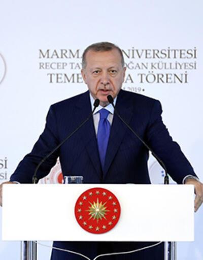 Cumhurbaşkanı Erdoğan'dan Macron'a: Önce sen beyin ölümünü kontrol ettir
