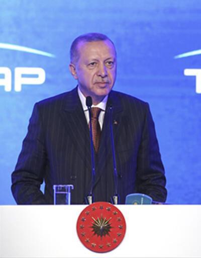 TANAP Avrupa'ya bağlandı... Cumhurbaşkanı Erdoğan'dan önemli açıklamalar