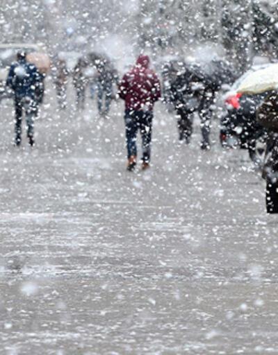 Meteoroloji il il uyardı! Kar ve yağmur geliyor