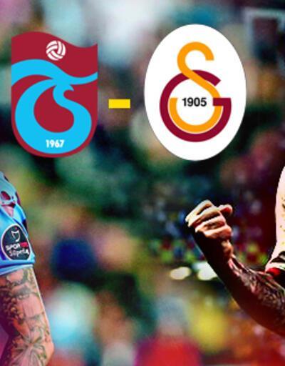Trabzonspor Galatasaray maçı canlı yayın ne zaman izlenecek? TS- GS derbisi saat kaçta?