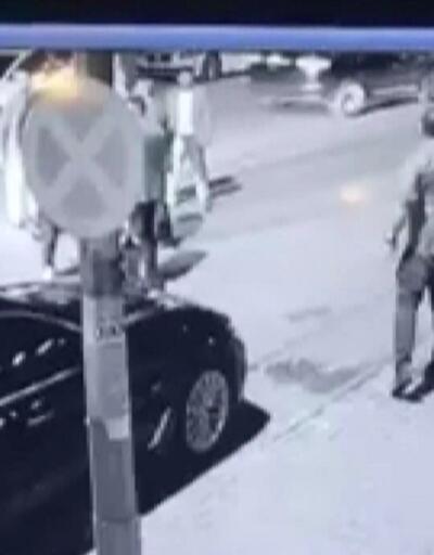 4 kişinin yaralandığı silahlı çatışma kamerada