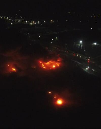 Düzce'de fabrika yangını
