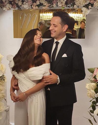 Merve Özbey ile Kenan Koçak nişanlandı