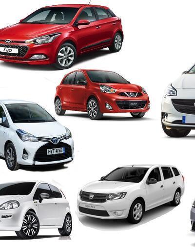 En çok kiralanan araç markaları belli oldu