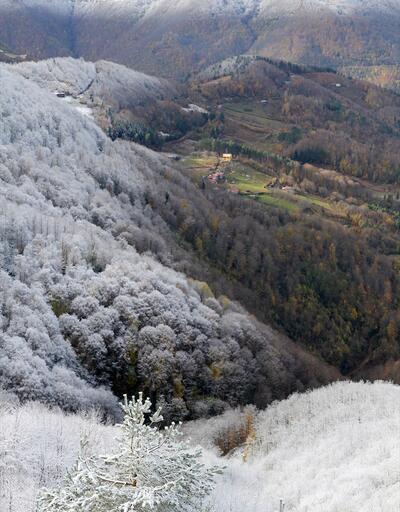 Sonbahar ve kış mevsiminin renkleri büyülüyor