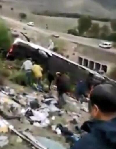 Fas'ta yolcu otobüsü şarampole yuvarlandı: 8 ölü, 42 yaralı