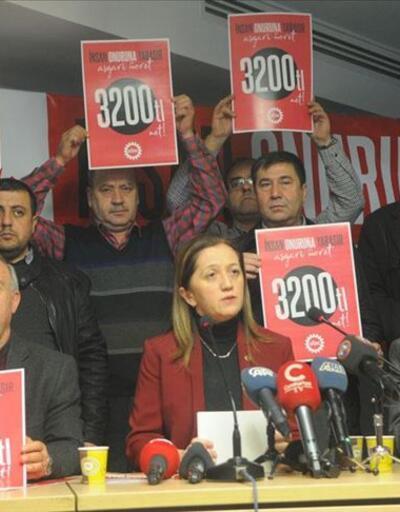 DİSK'in asgari ücret talebi net 3 bin 200 TL