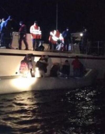 Didim'de kaçak 30 göçmen yakalandı