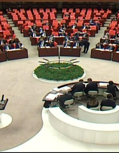 Meclis'te veto tartışması