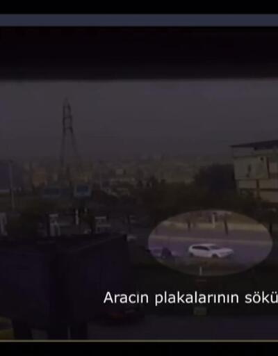 Saralların silahlı saldırıları kamerada