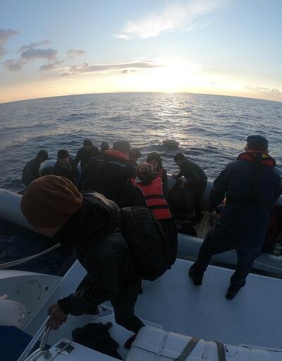 111 kaçak göçmen Çanakkale'de yakalandı