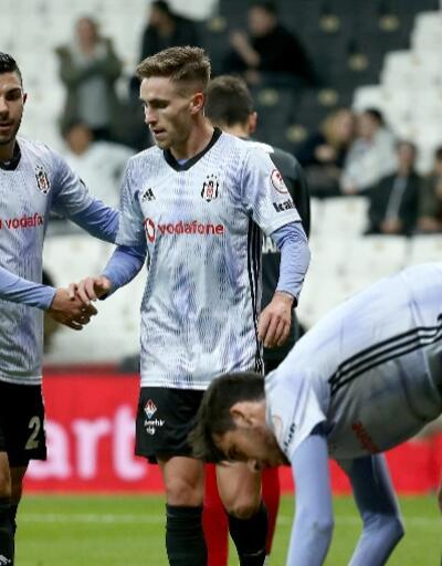 Beşiktaş 3 golle avantaj sağladı