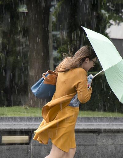 Son dakika... Dikkat! Meteoroloji'den kuvvetli yağış ve rüzgar uyarısı
