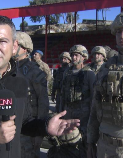 Komandolar operasyon öncesi CNN TÜRK'e konuştu