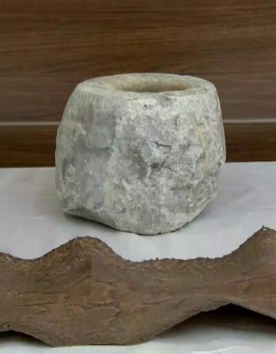 9 bin yıllık taş balta ele geçti