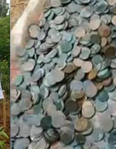 Yok böyle şans... Lotodan çıkan parayla aldığı arazide define buldu