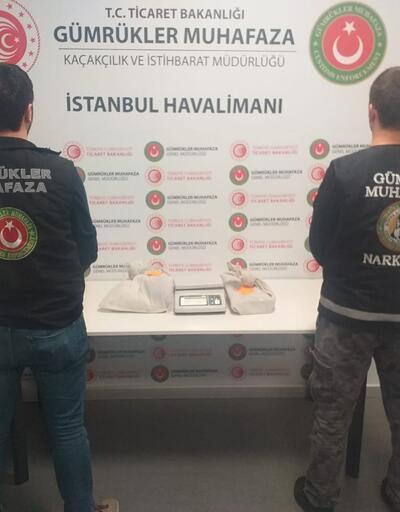 İstanbul Havalimanı'nda uyuşturucu operasyonu