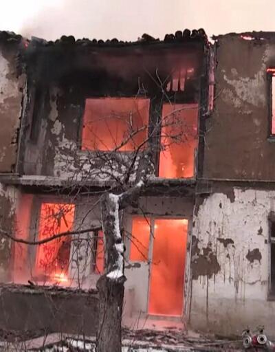 Tarihi konakta yangın