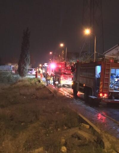 İstanbul'da gece saatlerinde yangın paniği! 7 kişilik aile ölümden döndü
