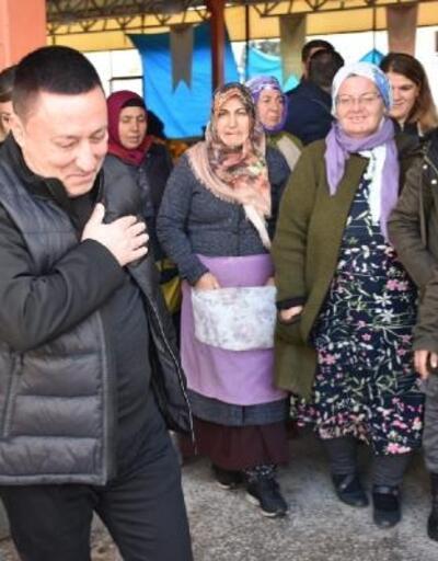 Beyoğlu'dan kadın pazarcılara ziyaret