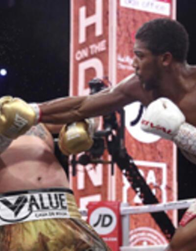 Anthony Joshua, Ruiz'i yendi