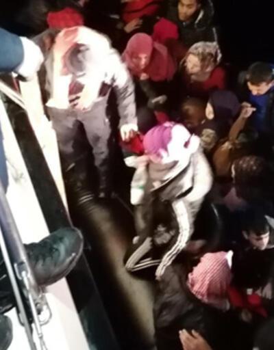 Didim'de 92 düzensiz göçmen yakalandı