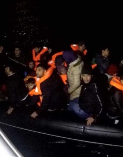 33 düzensiz göçmen Çanakkale'de yakalandı