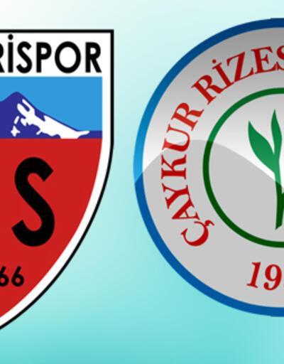 Kayserispor Rizespor maçı ne zaman, saat kaçta, hangi kanalda?