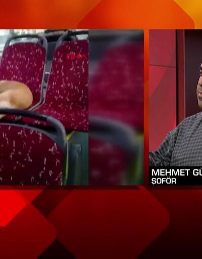 Kahraman şoför CNN TÜRK'te