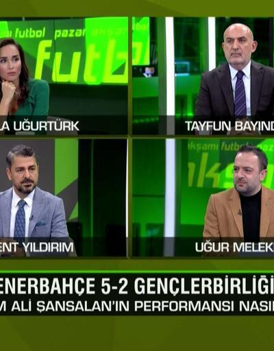 Kasımpaşa 2-3 BJK, F.Bahçe 5-2 Gençlerbirliği ve G.Saray 1-0 Antalyaspor maçlarının analizi Pazar Akşamı Futbol'da ekrana geldi
