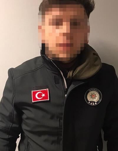 Sahte polisleri bekçiler yakaladı