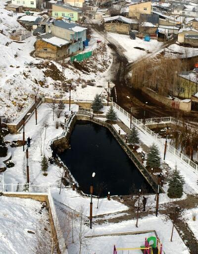 Erzurum'daki bu gölün gizemi çözülemiyor... Ölen balıkları özel mezarlığa gömüyorlar