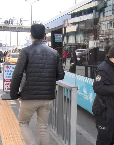 Otobüs şoföründen genç kıza akılalmaz tehdit