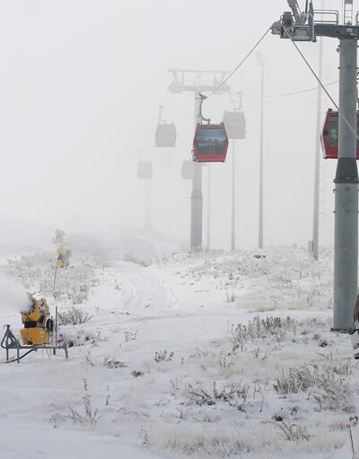 Erciyes'te kayak sezonu açılıyor