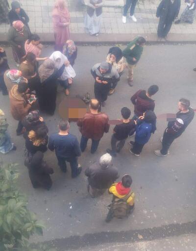 Küçükçekmece'de servis kazasının hemen ardından yaşananlar kamerada