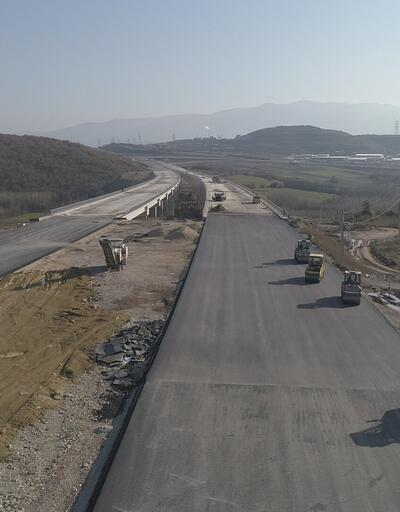 Kuzey Marmara Otoyolu çalışması havadan görüntülendi