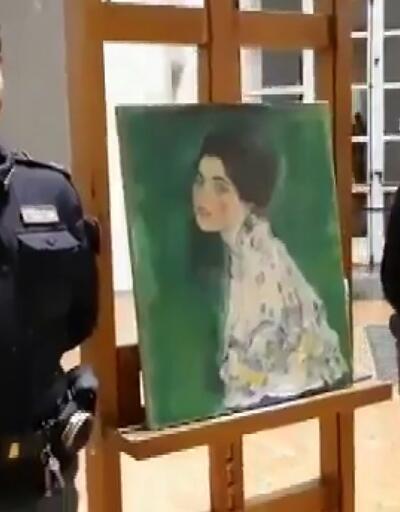 Çalınan tablo galeride bulundu