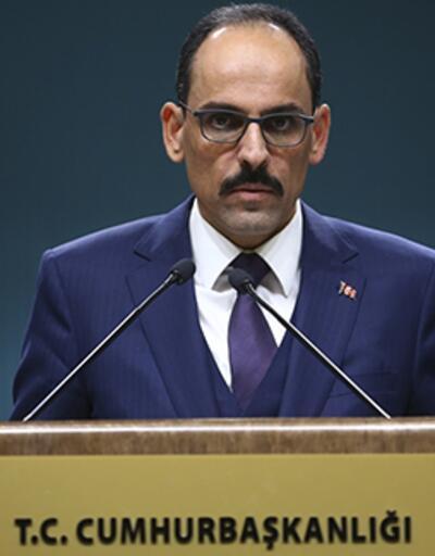 Cumhurbaşkanlığı Sözcüsü Kalın'dan Libya açıklaması