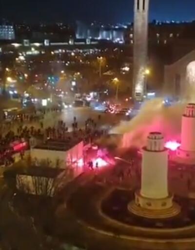Galatasaray taraftarı Paris'te saldırıya uğradı